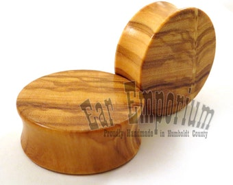 Handmade Wooden Plugs