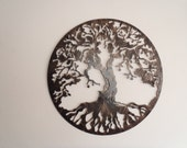 "Tree Of Life, Antique Look, 29.5"" in diameter"