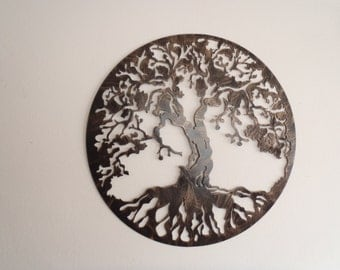 Wall Decor Metal tree of life metal art wall decor
