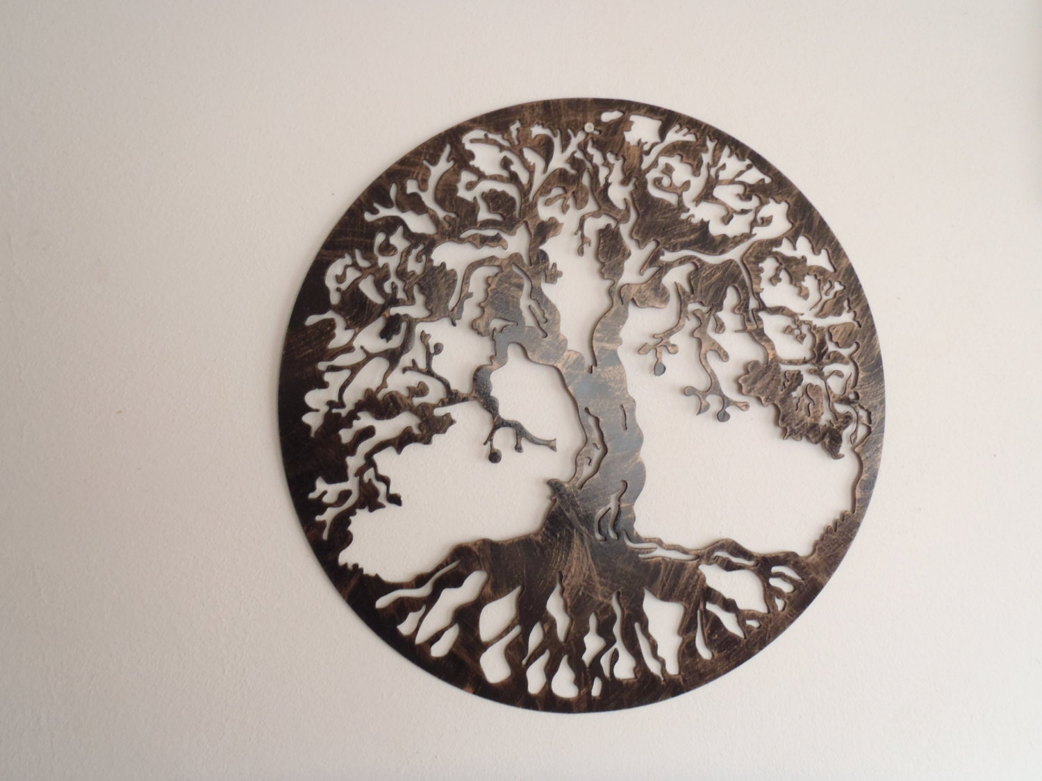 Tree Of Life Antique Look Wall Decor Metal Art