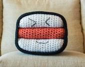 SPAM Musubi Pillow Crochet Pattern - Stuffed Crochet Food Toy - Whimsical Home Decor - Hawaiian Kawaii Amigurumi