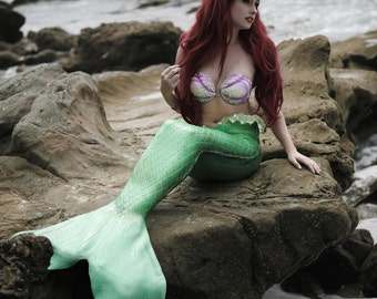 8x10 Little Mermaid Inspired Photo Print (Traci Hines)
