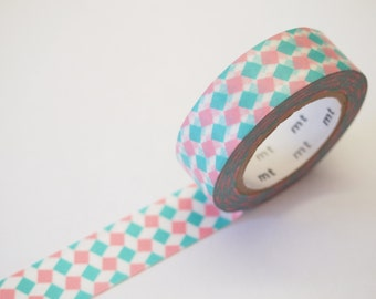 mt SQUARE PINK Washi Tape (10M)