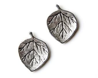 Leaf Cufflinks - Gifts for Men - Anniversary Gift - Handmade - Gift Box Included