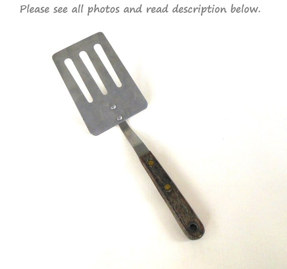 Wood Handled Spatula Short Handle Spatula Robinson
