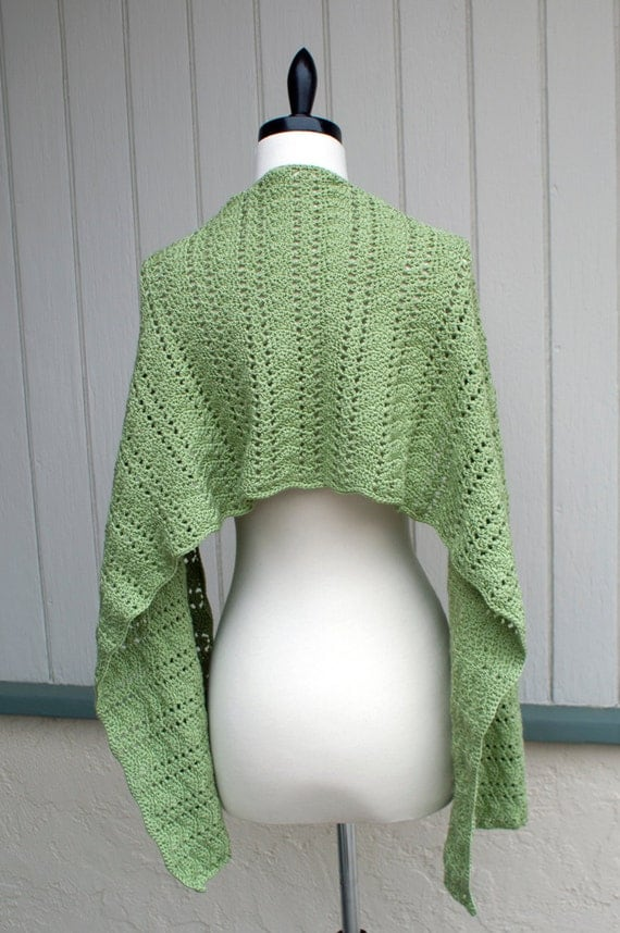 Crochet Pattern-- Destiny Shawl --Crochet Pattern