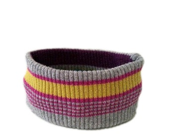 X Small Ribbed Neon Dog Neck Warmer, Dog Accessory