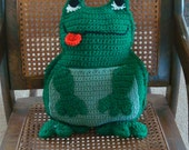 Frog Pillow and Toy