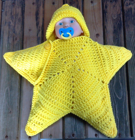 Star Cocoon Newborn Sleep sack Baby Slumber Sack Photo
