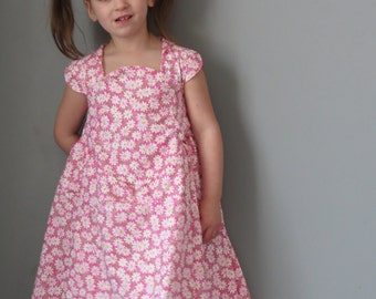 Pink Daisies Tea Time Dress