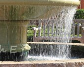 "Decorative Photographs 8X12 Wall Decor ""Water Fountain"""