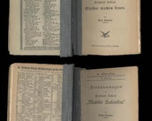 19th Century Swiss Author Gottfried Keller, 6 Rare Critical Works by Paul Sommer, Text in German, Vintage College X - Library Books
