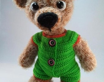 Romper Suit for Teddy Berend - PDF crochet pattern