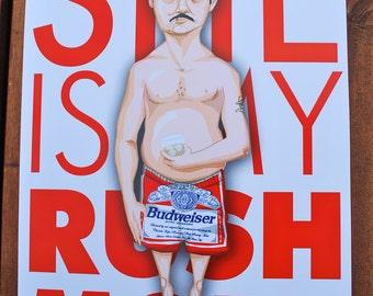 Richie Tenenbaum Portrait By SuPmon On Etsy