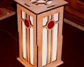 Prairie / Mission style table lamp