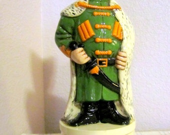 Russian Soldier Decanter