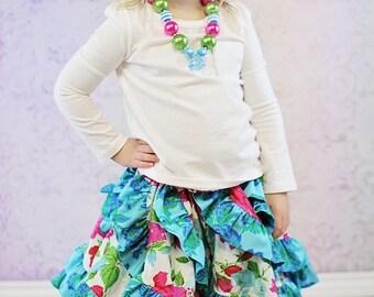 Victoria's Ruffled Swirly Skirt PDF Pattern sizes 6months to girls size 8
