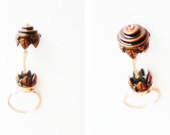 bone specimen ring, victorian inspired ossuary jewelry - MEMENTO MOURNING
