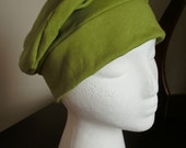 Slouchy Chemo Headcovering Hat--- Custom Made To Order--- Head Covering, Modest Covering, Chemo Hat, Cancer Hat, Head Wrap, Slouch Hat