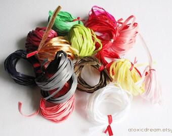 Raffia Sampler Pack - 1.5 oz - Assorted colors