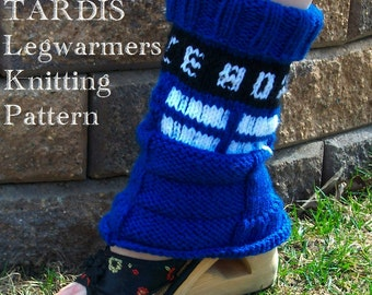 Knitting Pattern: Doctor Who Tardis Socks