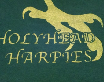 Quidditch Tee - Holyhead Harpies - Ginny Weasley Cosplay
