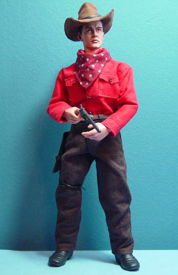 Custom Cowboy Gun Hand Jed In 1 6th Scale Made To Order
