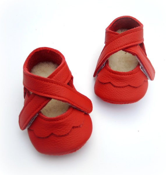 Soft Leather Baby Shoe Pattern