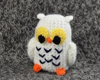 Snowy Owl Crochet Pattern, Amigurumi Snowy Owl Pattern, Amigurumi Owl Pattern, Crochet Owl Pattern, Crochet Snowy Owl Pattern, Cute Owl