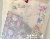 Candy Bag Collage Craft Kit by Rachelle Panagarry