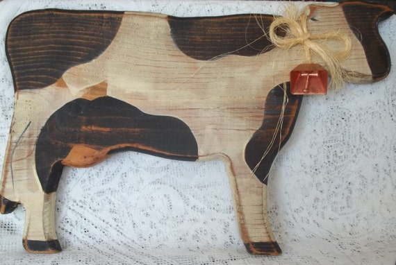 Black Cow Wall Decor : Cow wall decor s by