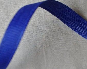 Royal Blue Grosgrain Ribbon - 10 Yards - 1/4 inch wide