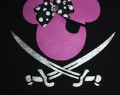 Mickey or Minnie Mouse Pirate Shirt