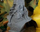 Viking Bust  Beeswax Candle