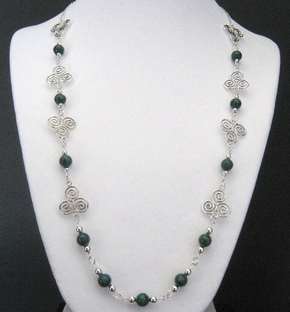The Moors Necklace and Earring Set