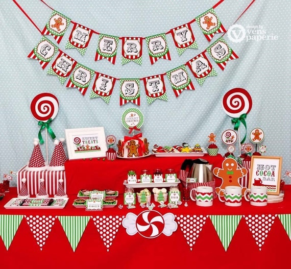 Christmas Sweet Shoppe Holiday Party