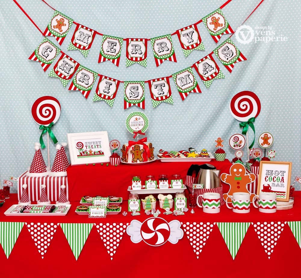 Diy christmas party decorations -  Zoom