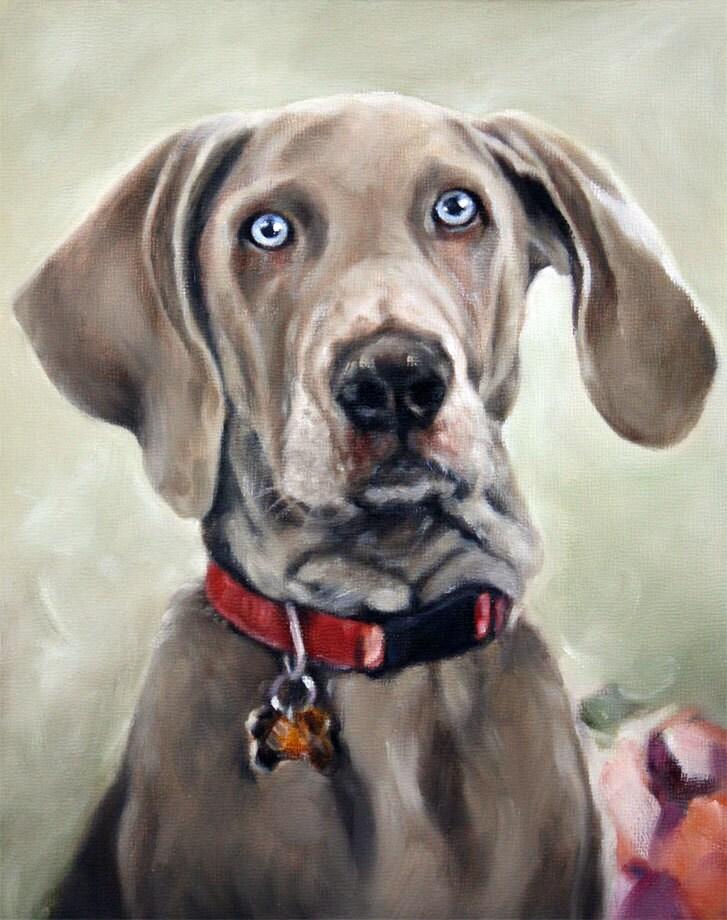 Custom Portrait Painting Etsy