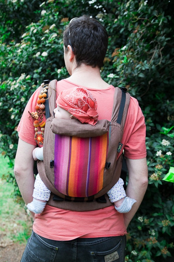 Full Buckle Ergonomic soft baby carrier from cotton and