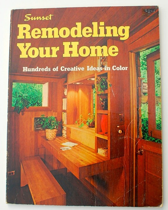 Remodeling Your Home A Sunset Book retro vintage midcentury interior ...