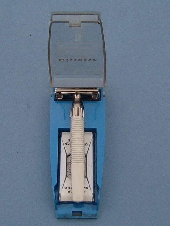 1960s Gillette Slim Twist Safety Razor With By Biminicricket