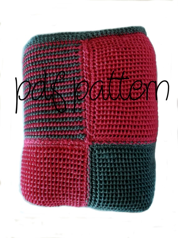 PDF Crochet Pattern Intermediate Level Hot by AllieBlankets