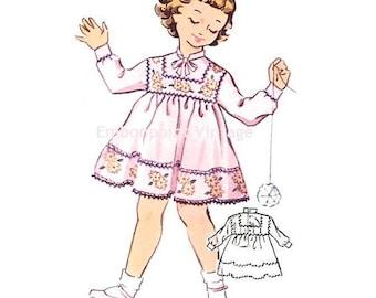 Plus Size (or any size) Vintage 1950s Dress Pattern - PDF - Pattern No 141 Carla