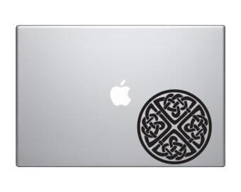 Irish Celtic Knot Macbook and Car Decal