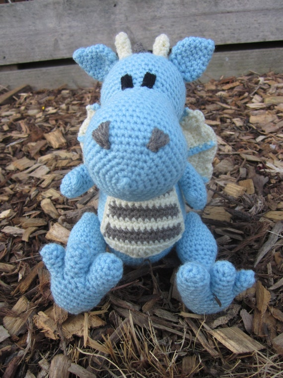 Crochet Pattern Free Dragon
