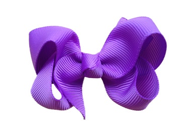 You pick color 2.5 inch boutique bow - small hair bow, custom hair bow