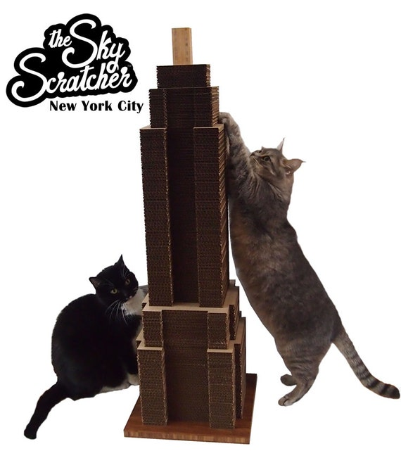 The Sky Scratcher: New York City - A Renewable & Eco-Friendly Cat Scratching Post