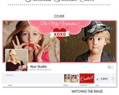 Valentine's Day Facebook Timeline Cover - FB145 - Instant Download