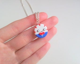 Peppermint Butler Adventure Time necklace