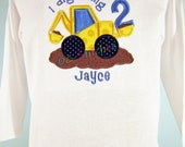 I Dig being Birthday Number Applique personalized Birthday Shirt 1, 2, 3, 4, 5, 6, 7, 8, 9